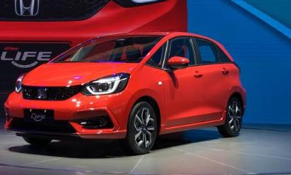 东风本田LIFE终于在今天正式在2020武汉国际车展上亮相