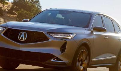讴歌官方发布了全新一代MDX的原型车 该车定位于中大型SUV