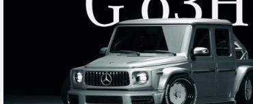 梅赛德斯奔驰AMGG63微型卡车表现出疯狂的姿态