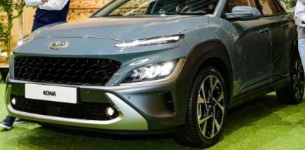 现代汽车在其本土市场发布了新款KONA