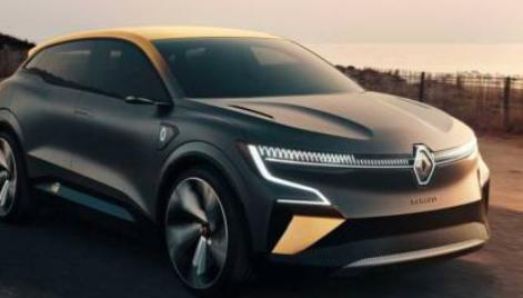 雷诺梅根eVision是一款电动概念车 将产生未来的掀背车