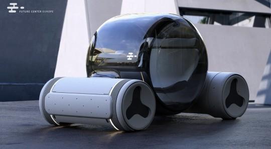 这个概念可以为我们的世界带来氢汽车