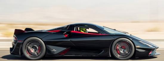 SSC的超级跑车打破了Koenigsegg Agera RS先前保持的世界纪录