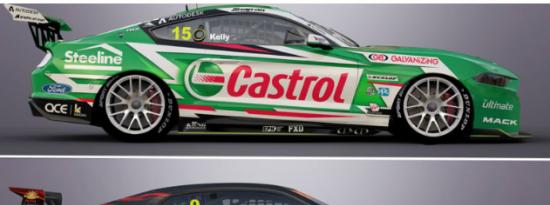 雪佛兰卡玛洛将在2022年V8超级跑车赛季中接受改装的野马