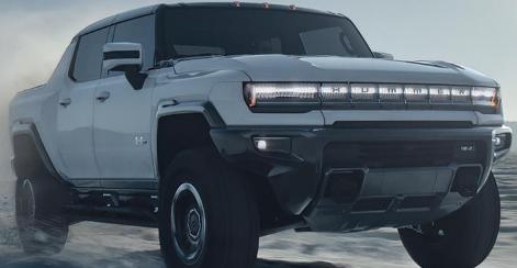2022年GMC悍马成为1000马力电动超级卡车