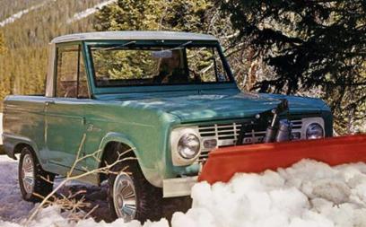 福特挑逗新野马Bronco概概念