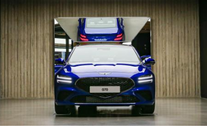 新款捷尼赛思G70新车增强了捷尼赛思的品牌形象