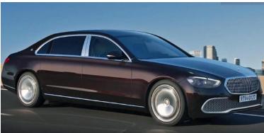 2022年梅赛德斯奔驰AMG S63e谍照曝光 插电式混合动力超级轿车在路上