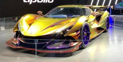 德国超跑制造商Apollo正式在国内首发亮相了旗下全新超跑Apollo Intensa Emozione