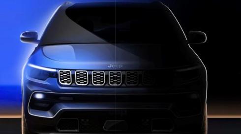 新款Jeep指南者新车将会在本届广州车展上正式首发亮相