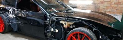 法拉利GTC4 Lusso击毁被俄罗斯机械师修复