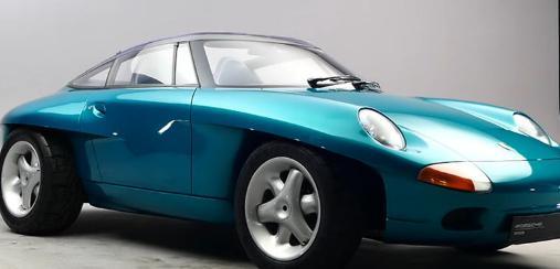 保时捷最疯狂的911 Concept启发了其最重要的汽车