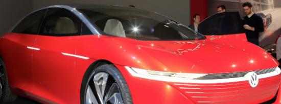 2022大众ID6电动跨界车并没有像那辆标致汽车一样迷惑我们