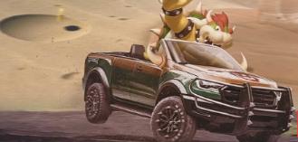 福特游骑兵猛禽将成为令人难以置信的马里奥赛车