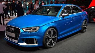 新款奥迪RS3将由2.5升五缸涡轮增压发动机提供动力