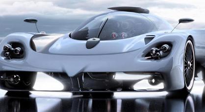 梅赛德斯奔驰设计师展示未来的帕加尼