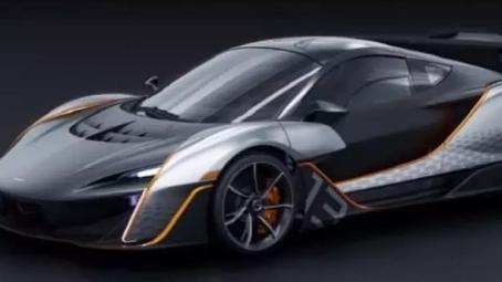 新迈凯轮超级混合动力车的第一批图像出现