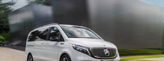梅赛德斯奔驰EQV的评论揭示了豪华的电动车