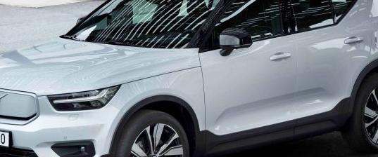 沃尔沃XC40是瑞典汽车制造商的紧凑型SUV的全电动版本