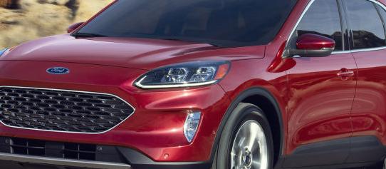 福特Escape的插电式混合动力版原定于今年秋天首次亮相