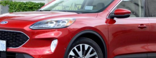 2020年福特ESCAPE混合动力车评论