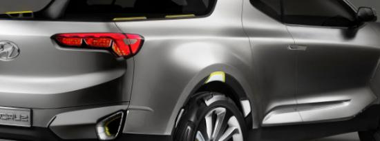 现代汽车未来圣克鲁斯皮卡的改装设计