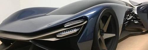下一代福特GT看起来像勒芒超级跑车