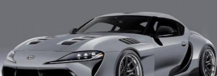 2020年丰田Supra复古赛车是一个怪物宽体转换