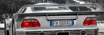 梅赛德斯奔驰CLKGTR在瑞士被发现的25中的8
