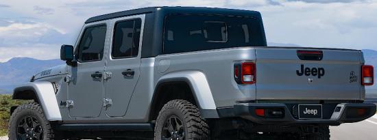 2021 Jeep Gladiator Goes Willys价格从35265美元起