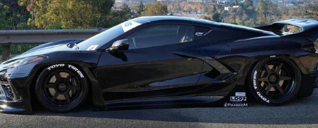 这款疯狂的Pandem C8 Corvette宽体轿车现已在加利福尼亚上市