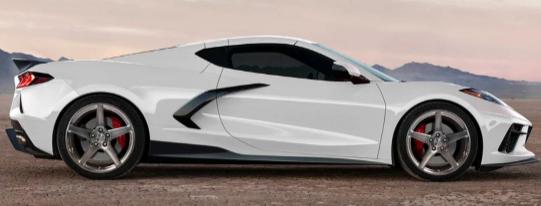 用RSC处理C8雪佛兰Corvette航空套件到五种新的碳纤维元件