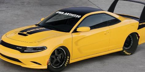 道奇Charger Daytona致敬看上去像是赛车奶酪楔子