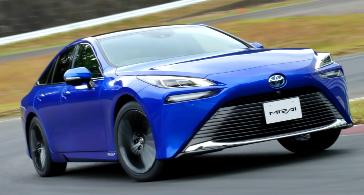 2021未来重新设计的底盘和改进的动力总成为丰田的FCEV赌注加油
