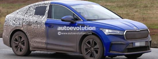 2022年斯柯达Enyaq iV GT Coupe是捷克的负担得起的宝马X6替代EV