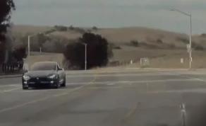 特斯拉Model S神秘原型被发现最有可能是期待已久的刷新