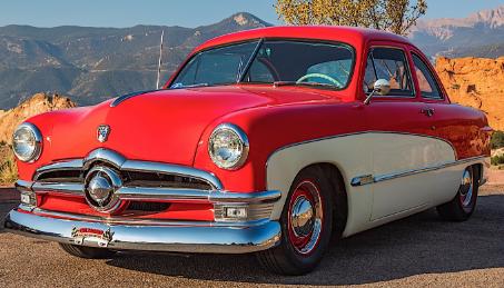 1950年福特Custom Deluxe是带水星心的鞋盒魔术