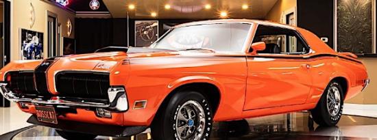 1970年Mercury Cougar Eliminator是个坏男孩价格不菲