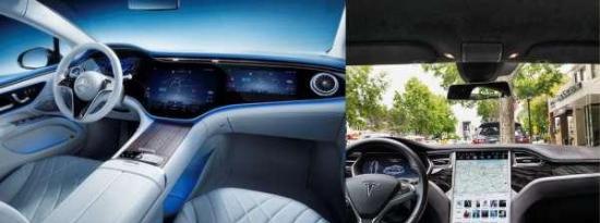 梅赛德斯EQS或特斯拉Model S:谁会卖出更多基于屏幕尺寸的汽车