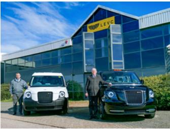 LEVC任命Caffyns作为苏塞克斯的电动出租车和面包车特许经营者