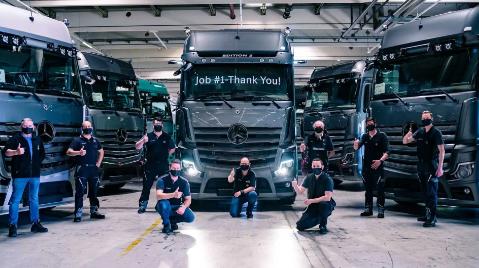 梅赛德斯阿特罗斯2开始交付豪华货车