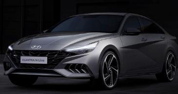 2021 年现代伊兰特 N Line 暗示将推出更多运动型轿车