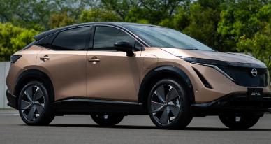2022 日产 Ariya 电动跨界车削弱了特斯拉 Model Y