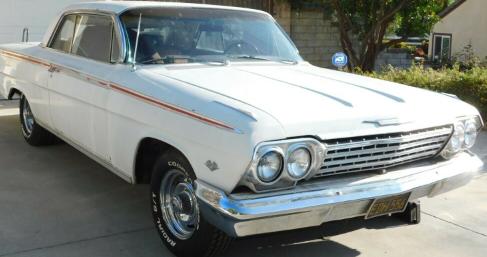 隐藏在防水布下多年的雪佛兰 Impala 又回来展示原始