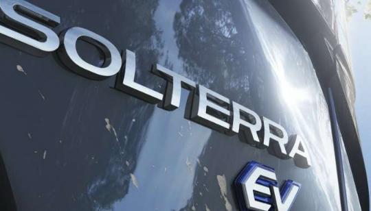2023年斯巴鲁 Solterra是该汽车制造商有史以来第一款全电动SUV