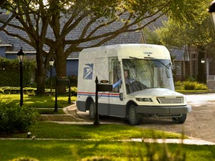 USPS选择了一辆新的邮车