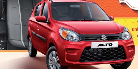 Maruti推出AltoCelerio和WagonR节日版变体